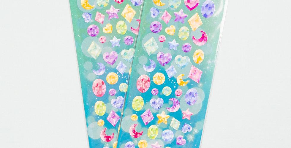 MANTA BOX Twinkle Jemstones Sticker