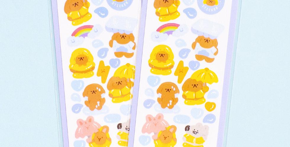 OKIKI Rainy Day Sticker