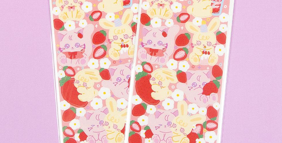 LEMON BERRY Strawberry Lemon Berry Sticker