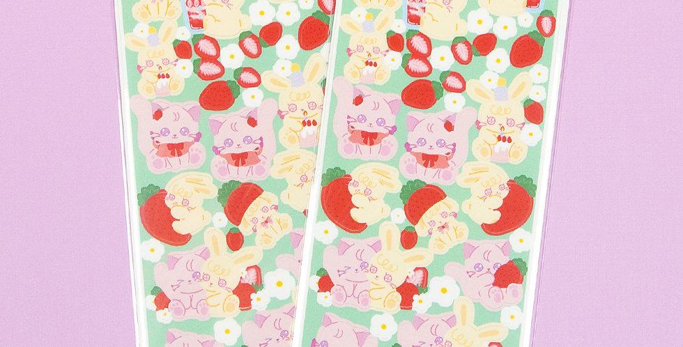 LEMON BERRY Mini Strawberry Lemon Berry Sticker