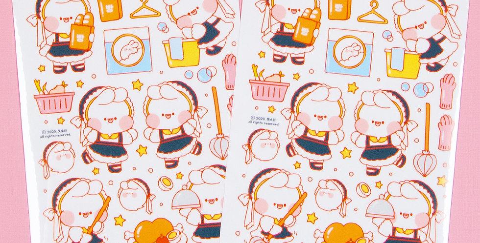 PUT SO NYEON Maid Sticker