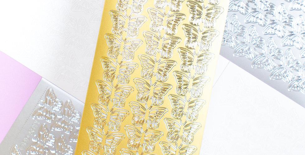 POLARIS SPACE Butterfly Sticker