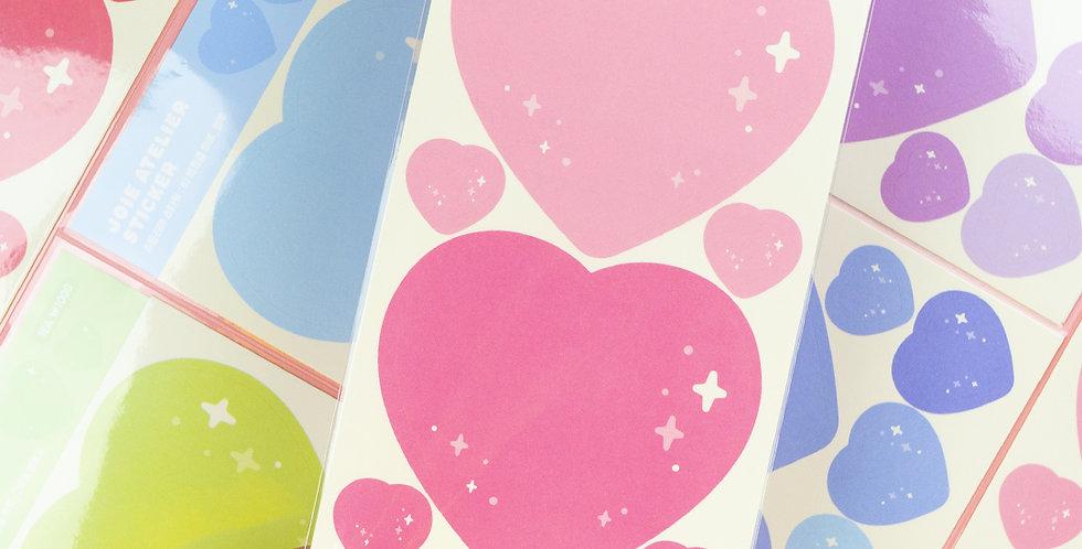 JOIE ATELIER Twinkle Heart Memo Sticker
