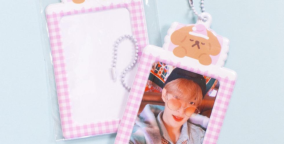 OKIKI Pink Photo Holder