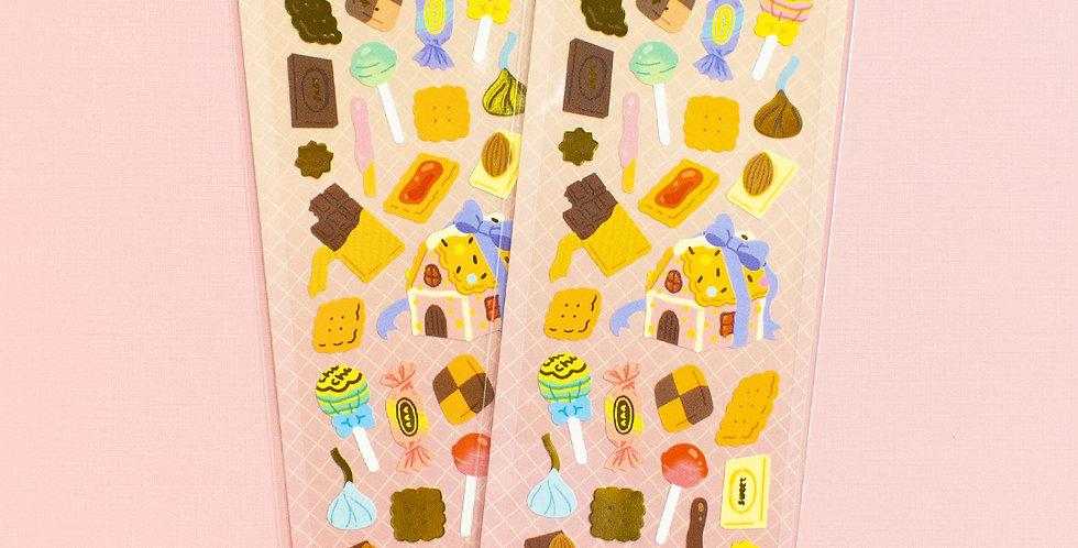 MANTA BOX Sparkling Sweets Sticker