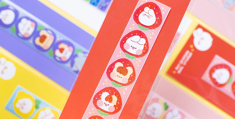 PUT SO NYEON Mini Fruit Sticker