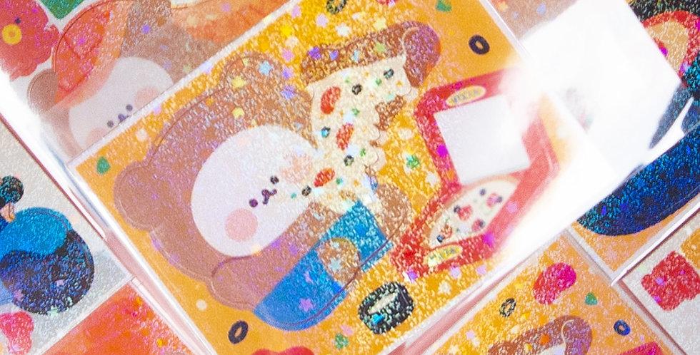 COTTON DANCHOO Mini Food Sticker