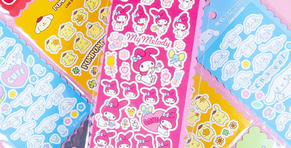 SANRIO Line Sticker