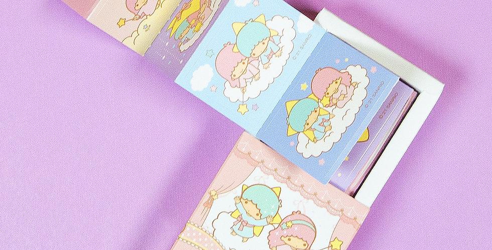 SANRIO Little Twin Stars Mini Box Sticker