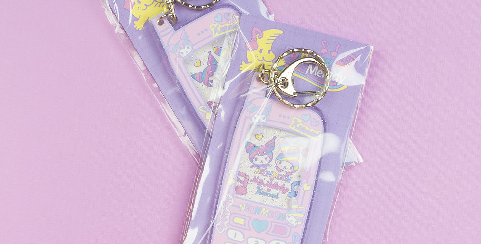 NEON MOON Rainbow Melody Keychain