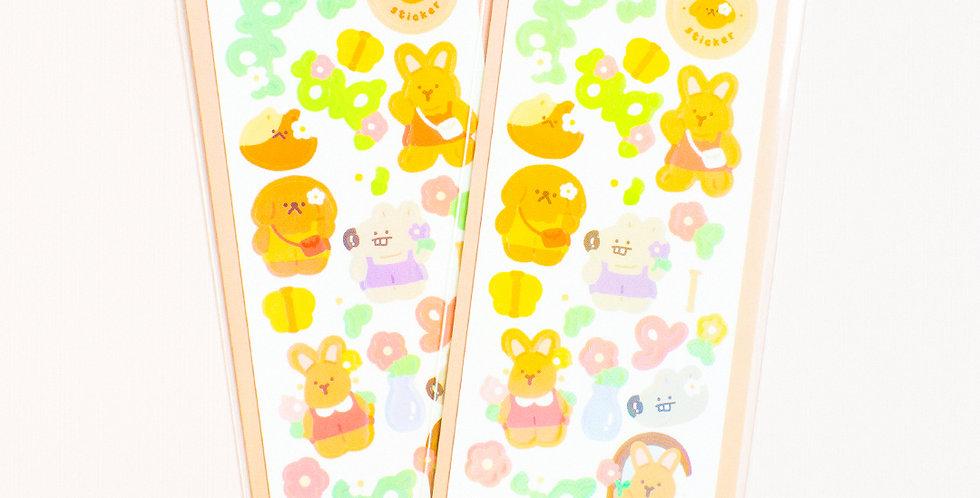 OKIKI Flower Sticker