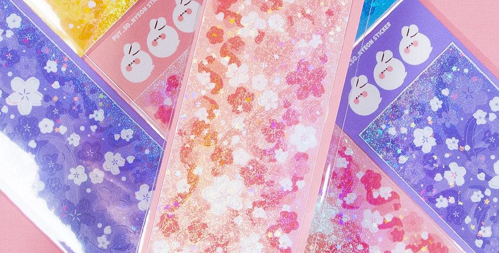 PUT SO NYEON Blossom Confetti Sticker