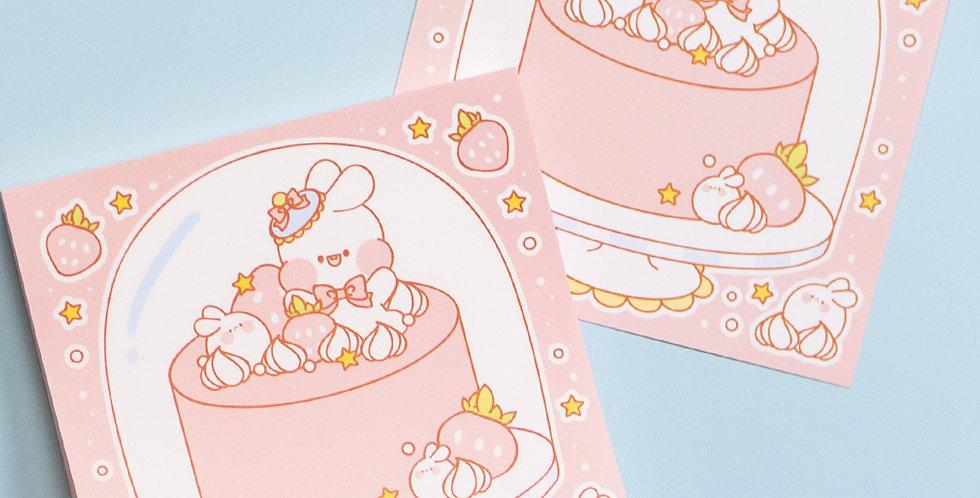PUT SO NYEON Baby Cake Cover Memo