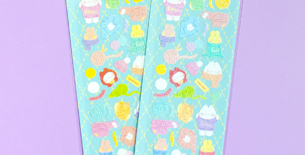 MANTA BOX Twinkle Knitting Koaeng Sticker