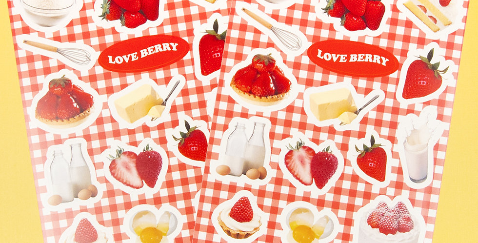 LOVE THINGS Berry Verry Sticker