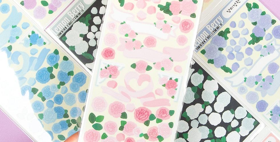 LEMON BERRY Rose Garden Sticker