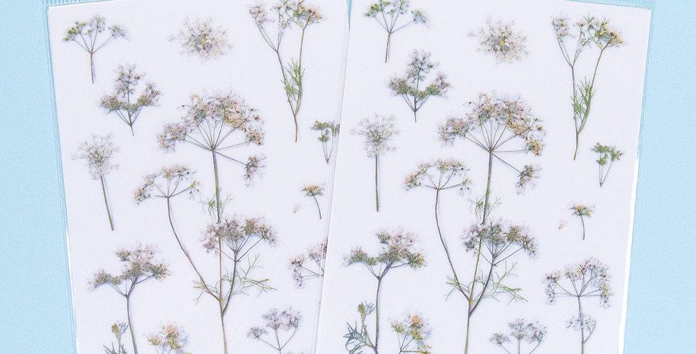 APPREE Lace Flower Sticker