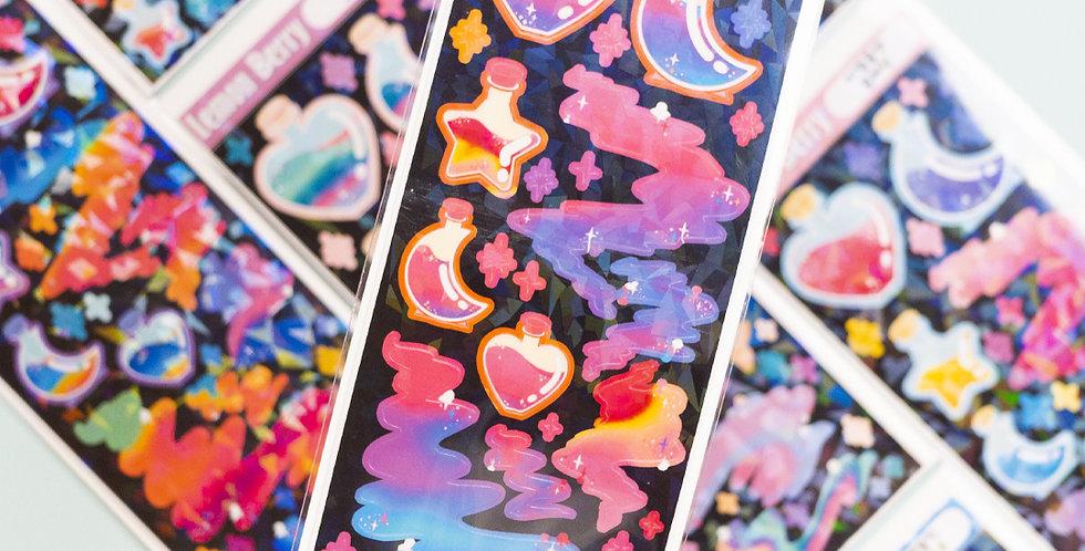 LEMON BERRY Magic Potion Sticker
