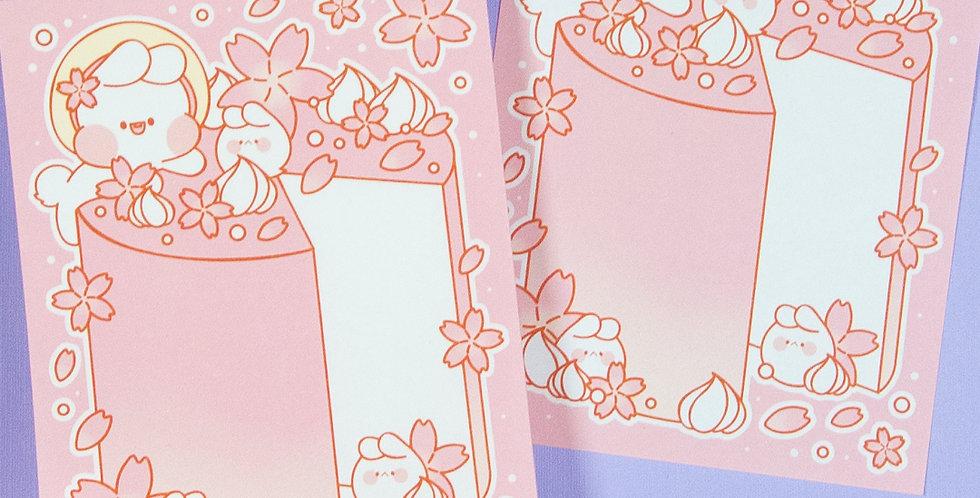 PUT SO NYEON Blossom Cake Memo