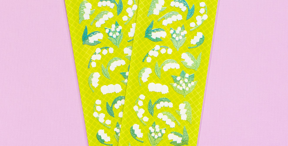 MANTA BOX Twinkle Lily of the Valley Sticker