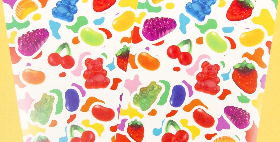 LOVE THINGS Yummy Gummy Sticker