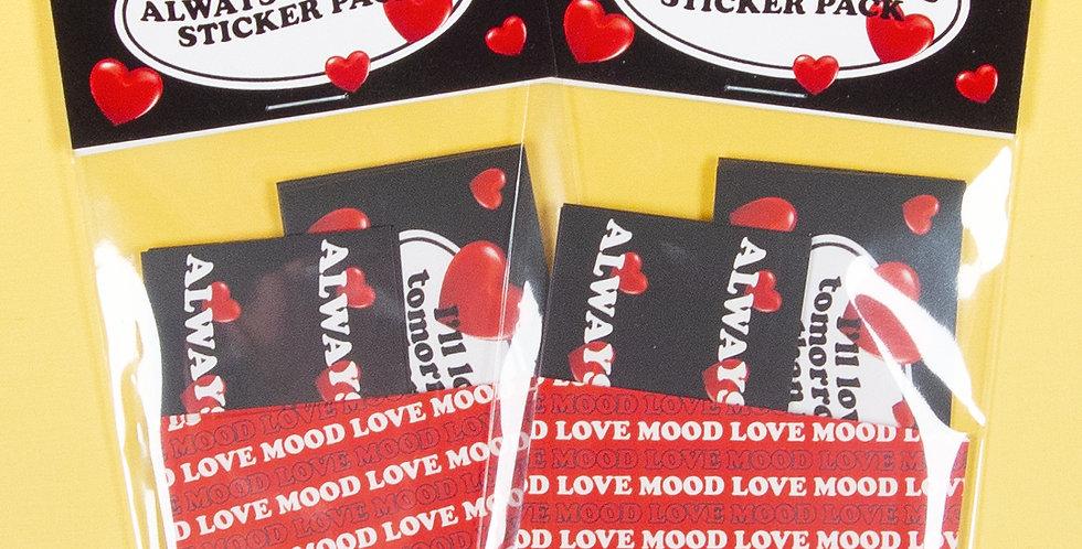 LOVE THINGS Always Love Sticker Pack