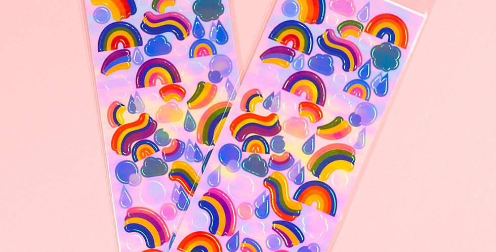 MANET Pearly Rainbow Sticker