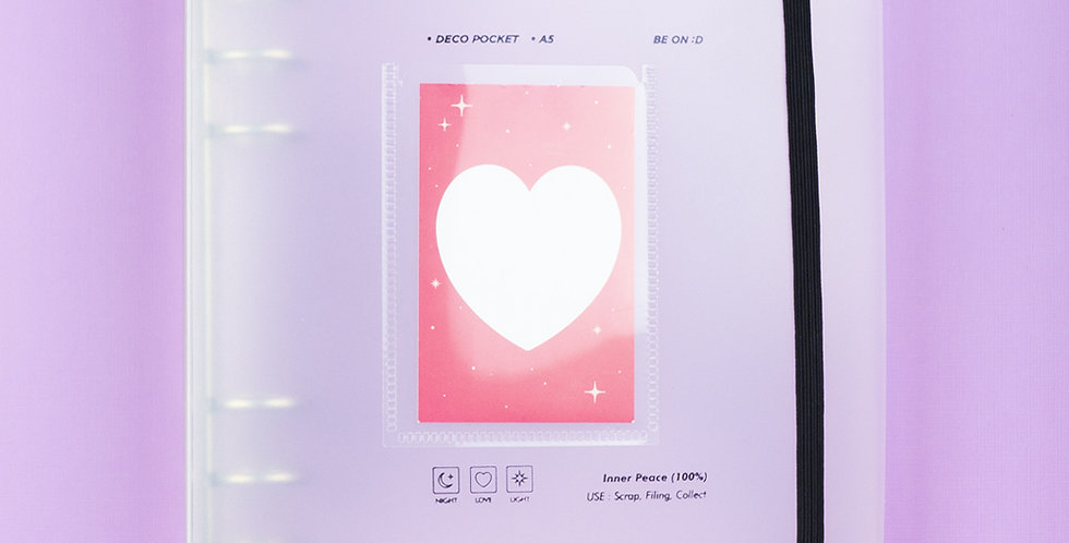 BE ON D A5 Pocket Cover Binder