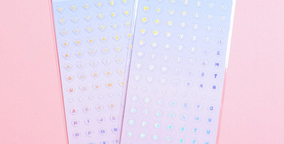 JOIE ATELIER Aurora Alphabet Sticker