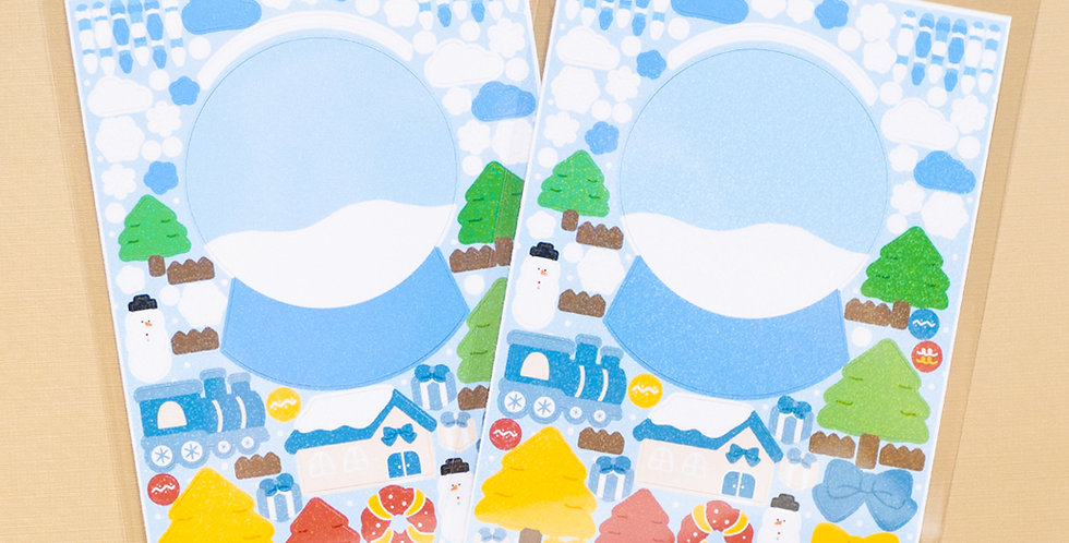 COTTON DANCHOO Snowball Sticker