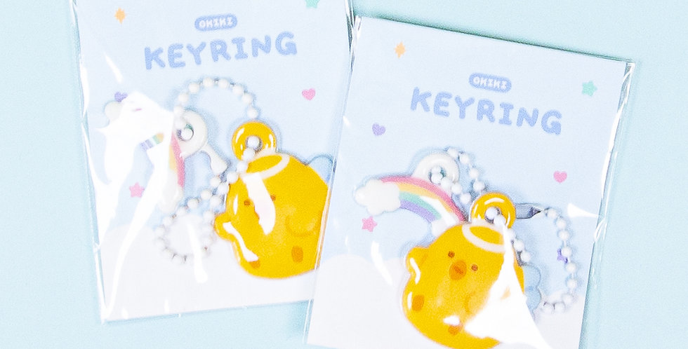 OKIKI Akong Angel Soft Key Ring