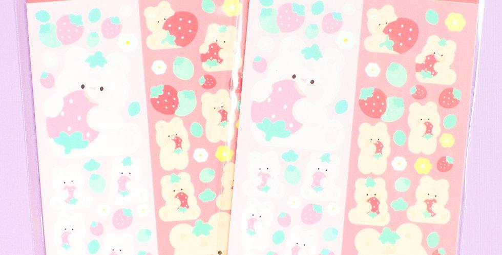 JOIE ATELIER Strawberry Kobi Twin Sticker