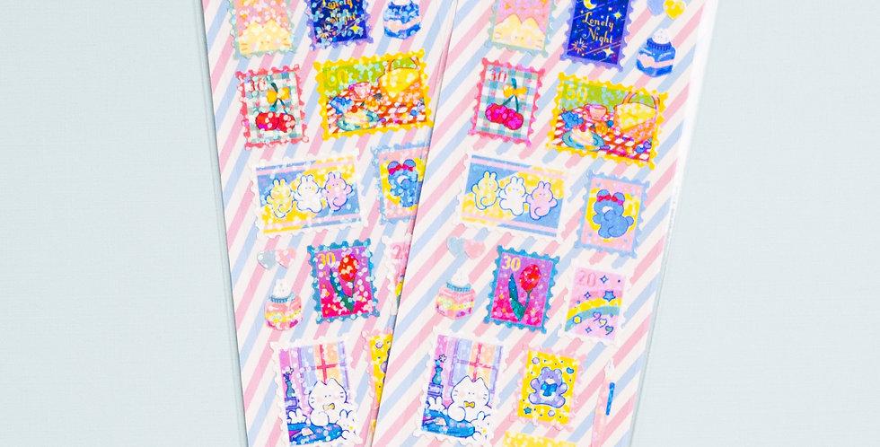 MANTA BOX Twinkle Koaengi Stamp Sticker