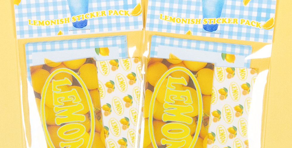 LOVE THINGS Lemonish Sticker Pack