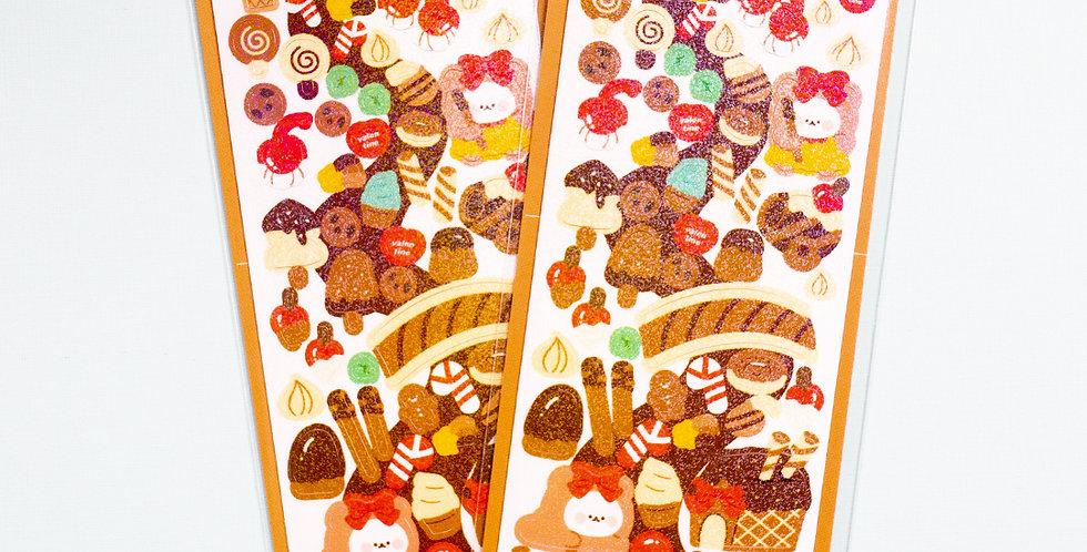 COTTON DANCHOO Chocolate Land Sticker