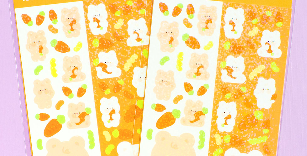 JOIE ATELIER Carrot Kobi Twin Sticker