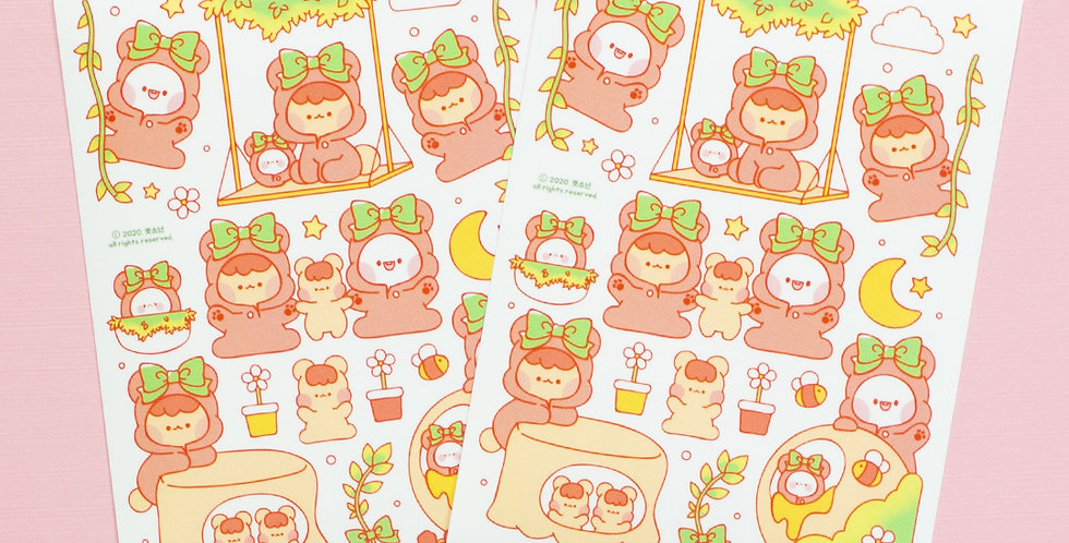 PUT SO NYEON In the Woods Sticker