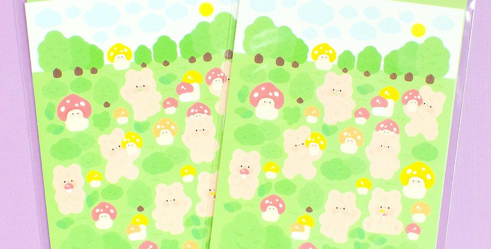 JOIE ATELIER Forest Kobi Sticker