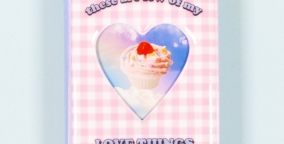 LOVE THINGS Signature Collect Book - Pink