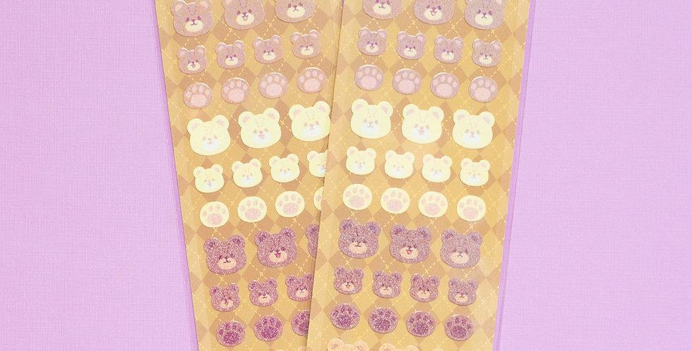 MANTA BOX Twinkle Bear Bear Sticker