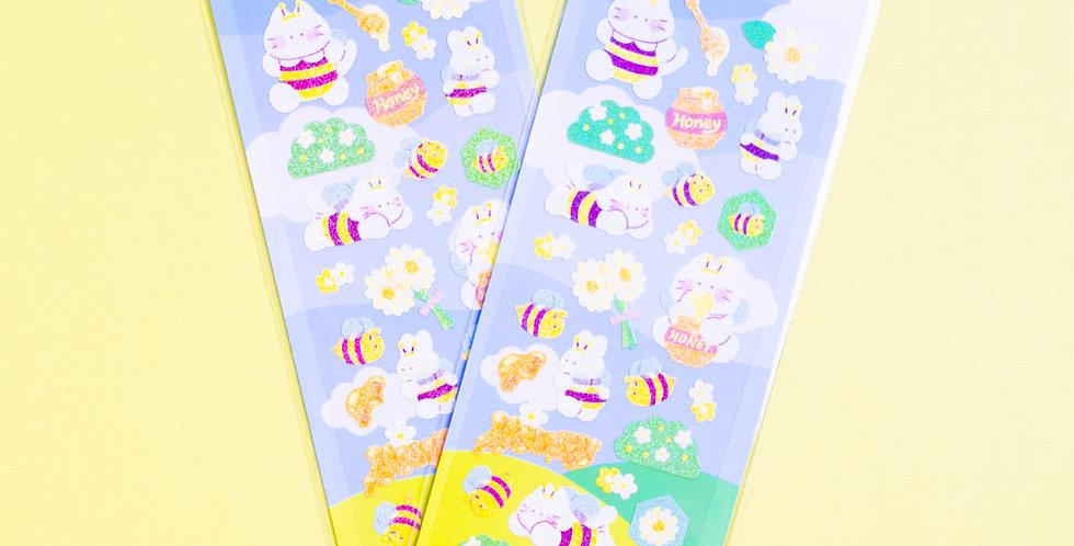 MANTA BOX Twinkle Buzzing Bee Sticker