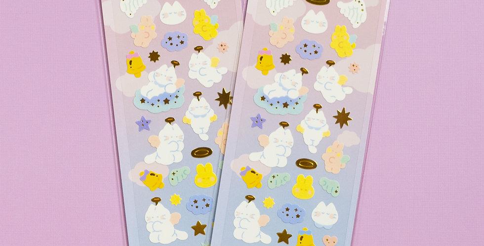 MANTA BOX Sparkling Little Angel Sticker