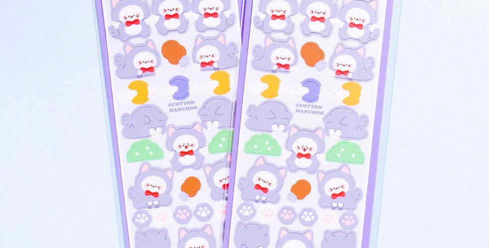 COTTON DANCHOO Wolf Sticker