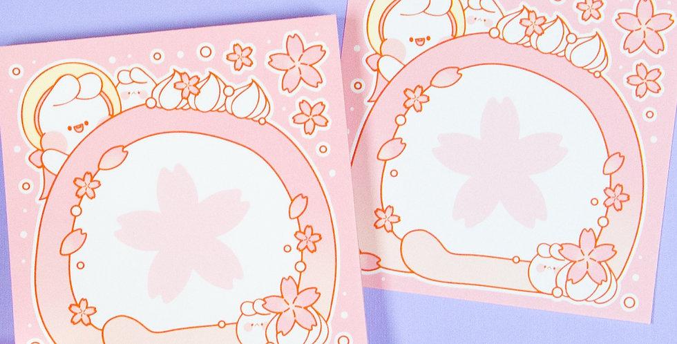 PUT SO NYEON Blossom Roll Cake Memo