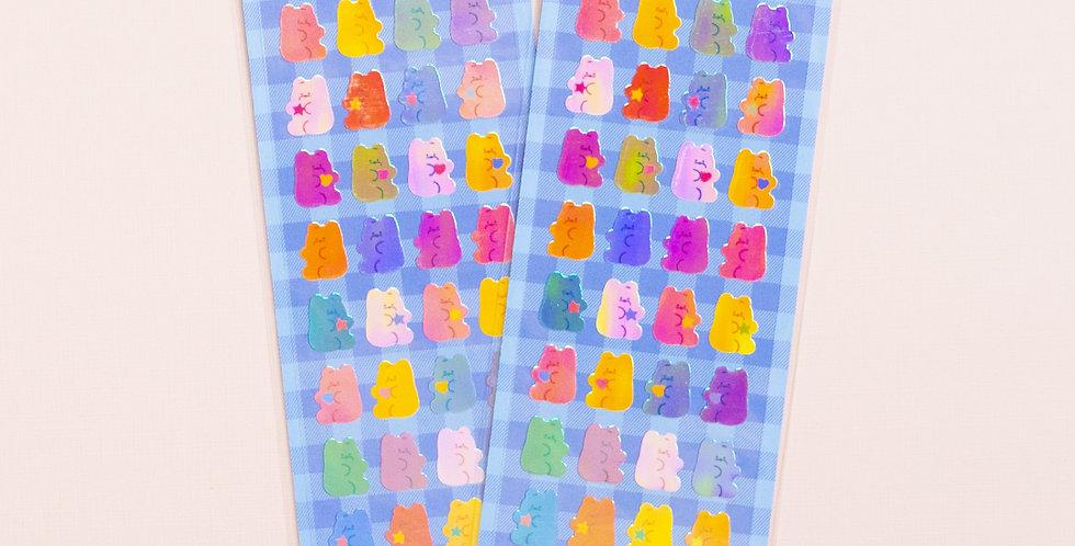 MANTA BOX Pearly Little Jelly Bear Sticker