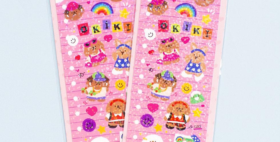 OKIKI Highteen Sticker