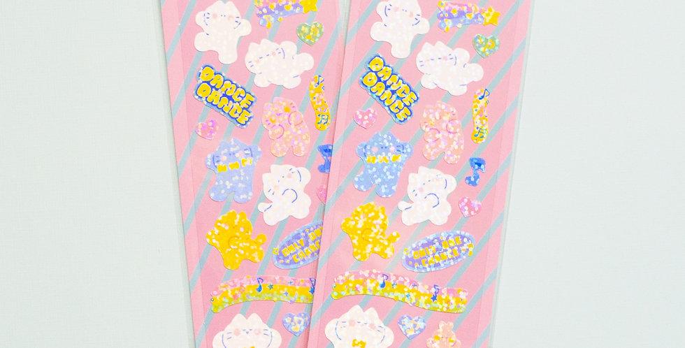 MANTA BOX Twinkle Dance Dance Koaengi Sticker