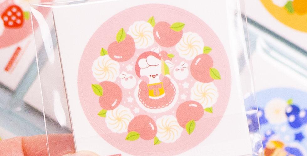 PUT SO NYEON Fruit Cake Sticker
