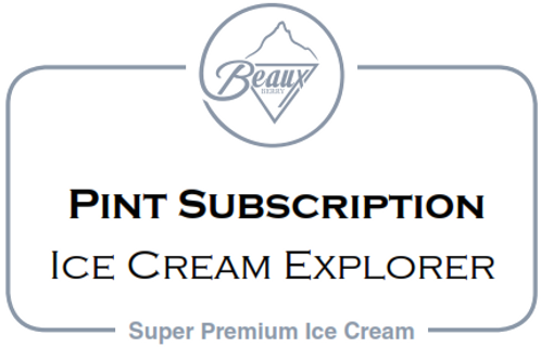 Pint Subscription-Ice Cream Explorer