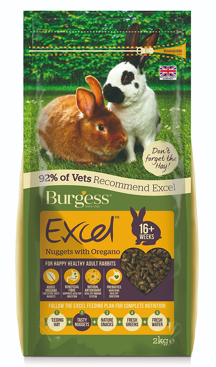 Burgess Excel pellets